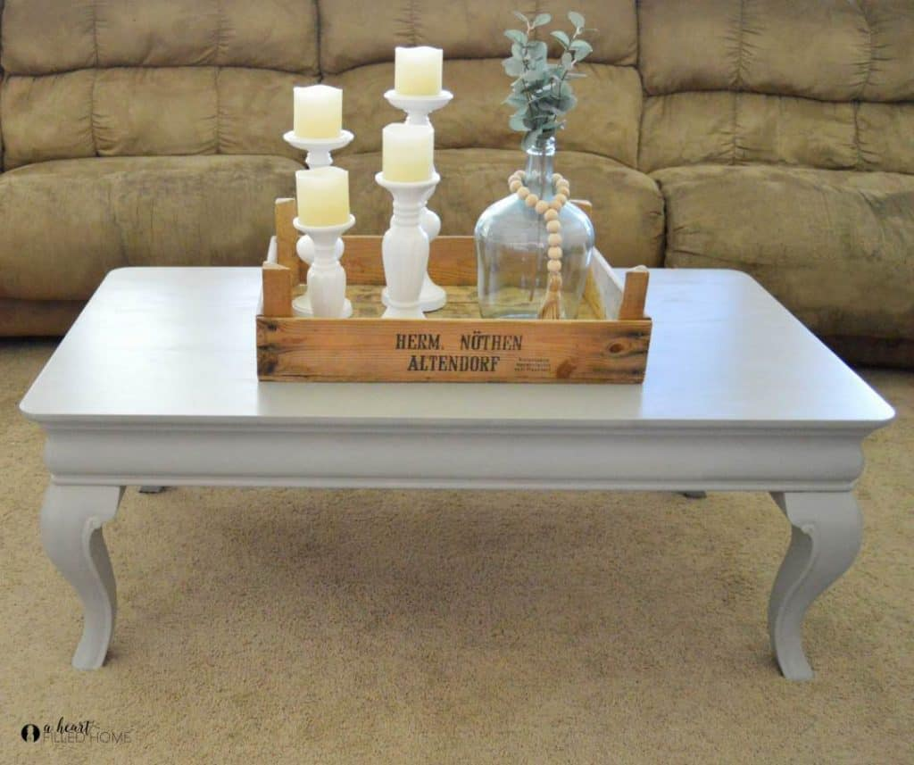 Make a beautiful memory with your old coffee table